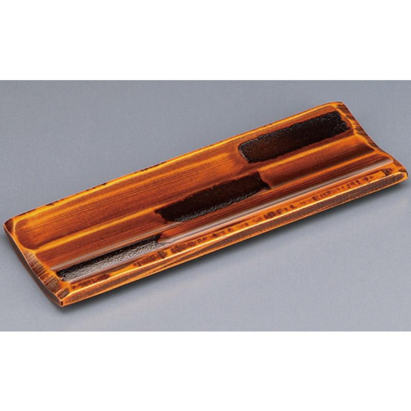 木製荒彫おしぼり受 栃塗 2-1762-1