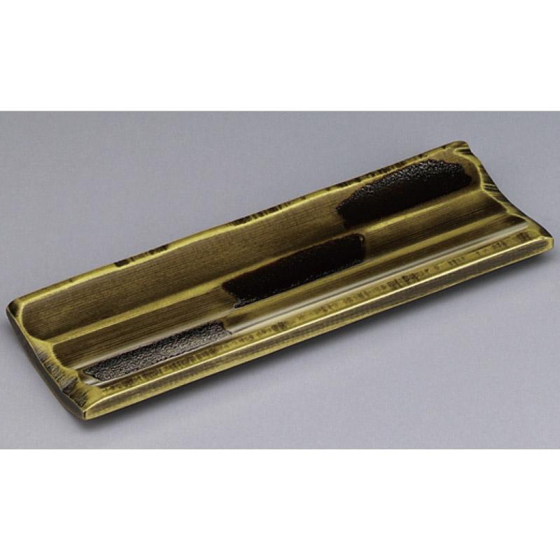 木製荒彫おしぼり受 よもぎ塗 2-1762-2