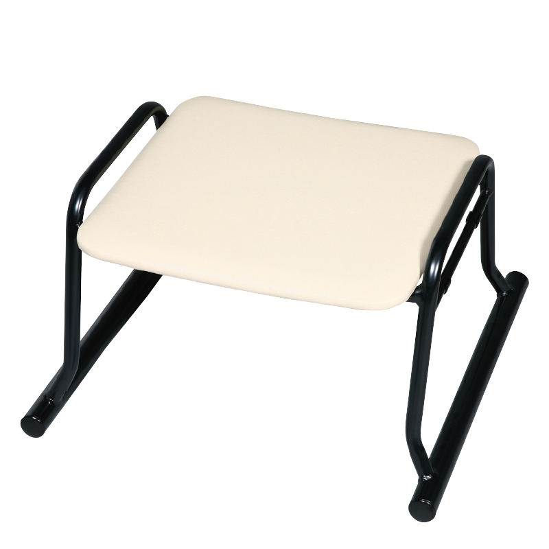 低補助椅子 アイボリー(ビニールレザー)2-1843-4