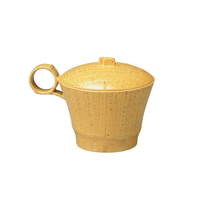 トッティー竹型椀 ゴマ竹内朱 2-220-9