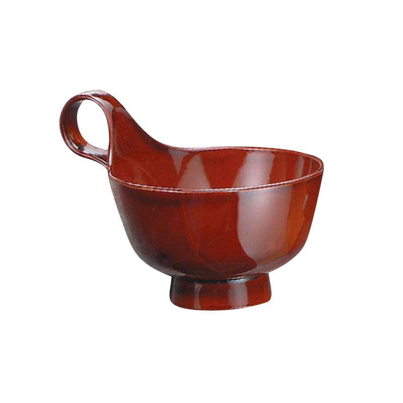 トッティー渦型汁椀 総春慶 2-222-4