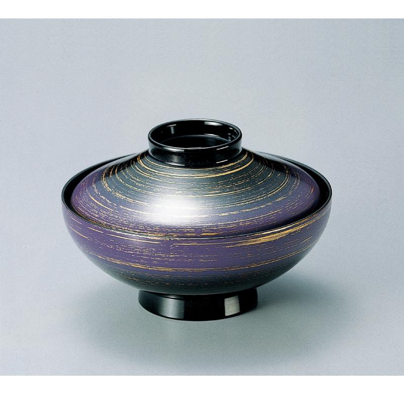 雑煮椀・多用椀 平富士吸物椀 ルミナスパール 2-278-5