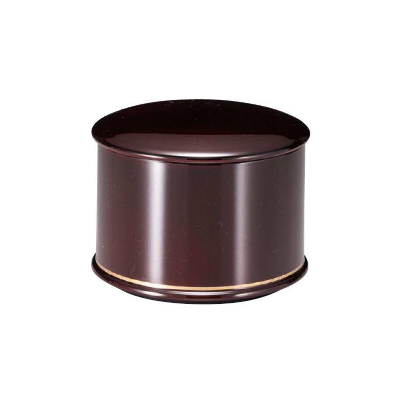 耐熱縁高飯器 溜金ライン(内黒) 2-331-17