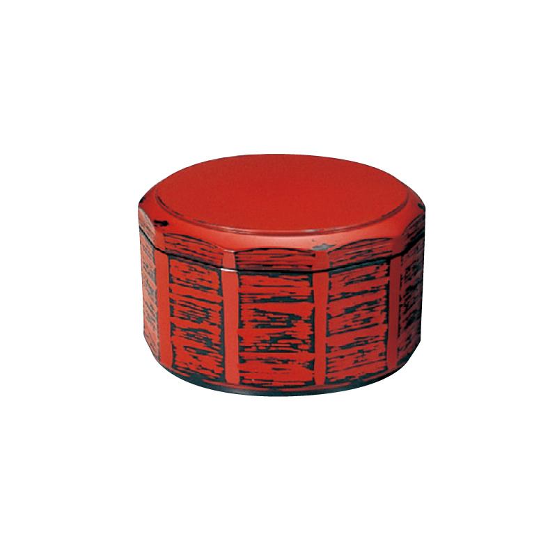 耐熱木彫飯器 根来(内黒)小 2-340-7
