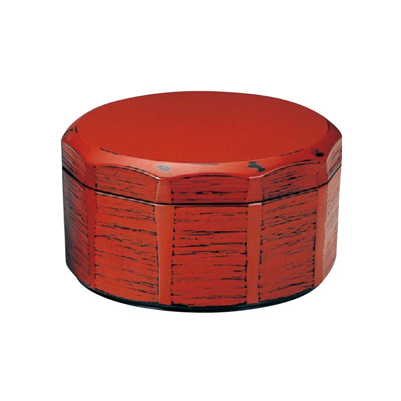 耐熱木彫飯器 根来(内黒)大 2-340-9