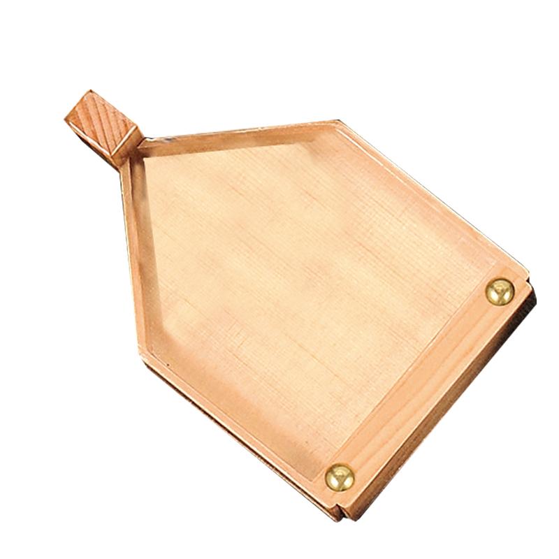 木製角舟付台(滑り止め付) 2-371-4