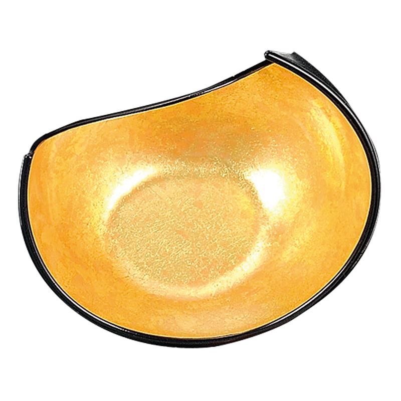 三日月盛器 二色金箔 2-371-6