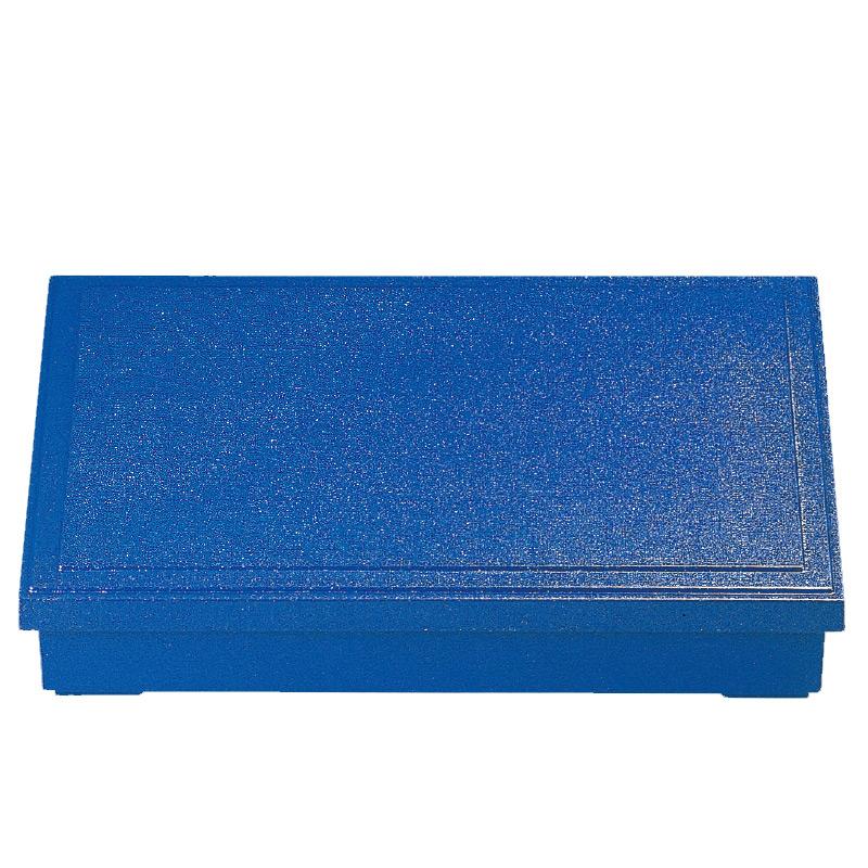 尺1寸長手気比布目松花堂 ブルー 2-404-12 パール(親)