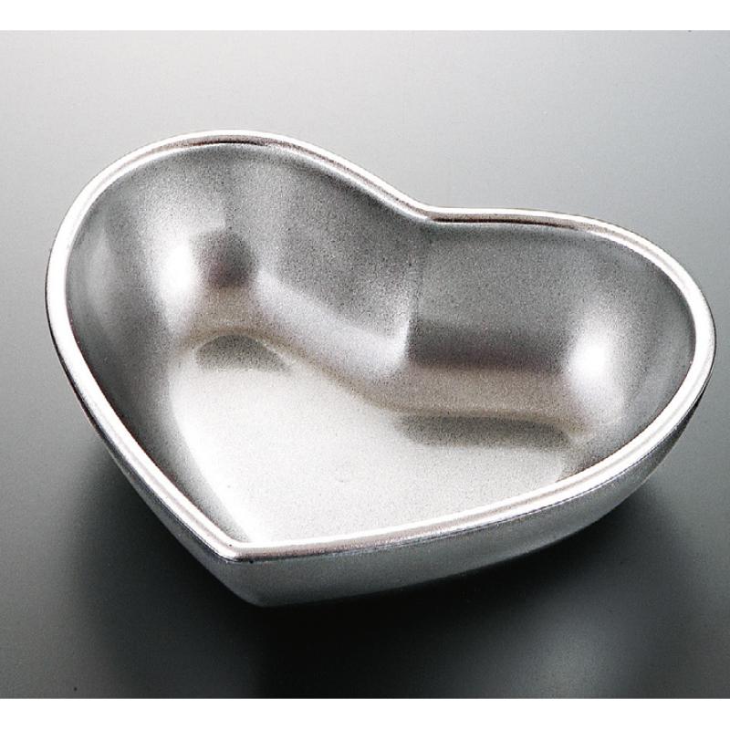 ハート鉢 銀透き 2-548-8