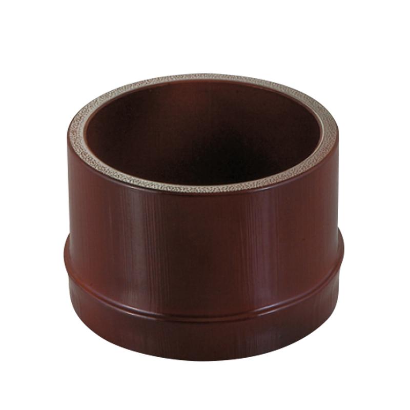 φ8cm越前すす竹丸鉢 2-768-29