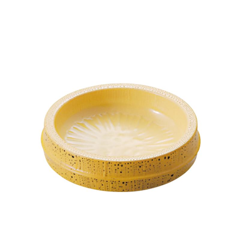 φ8㎝越前薬味皿 ゴマ竹 2-768-32