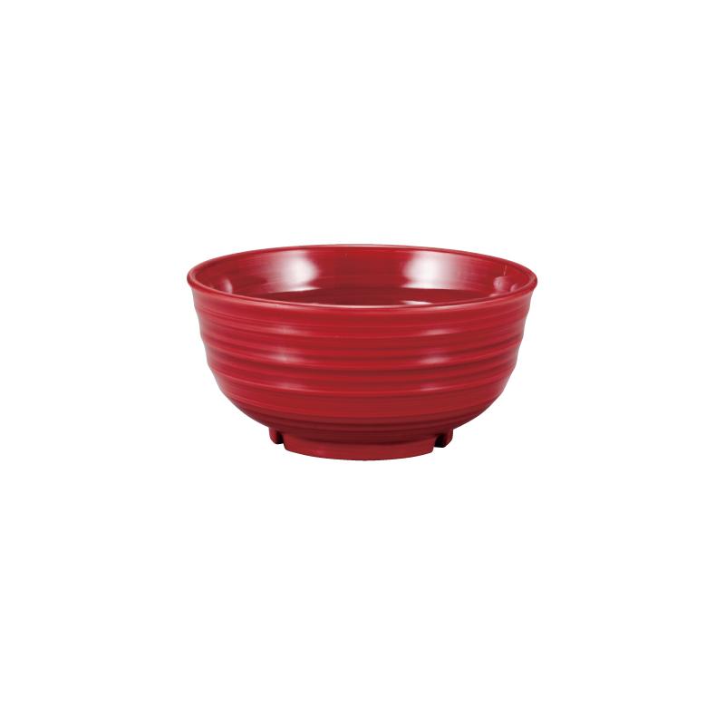 PBT荒彫鉢 小豆刷毛 15cm 2-786-6