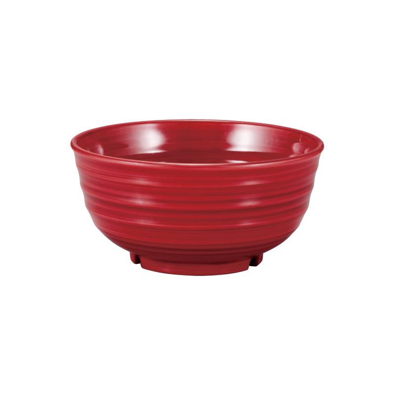 PBT荒彫鉢 小豆刷毛 17cm 2-786-8