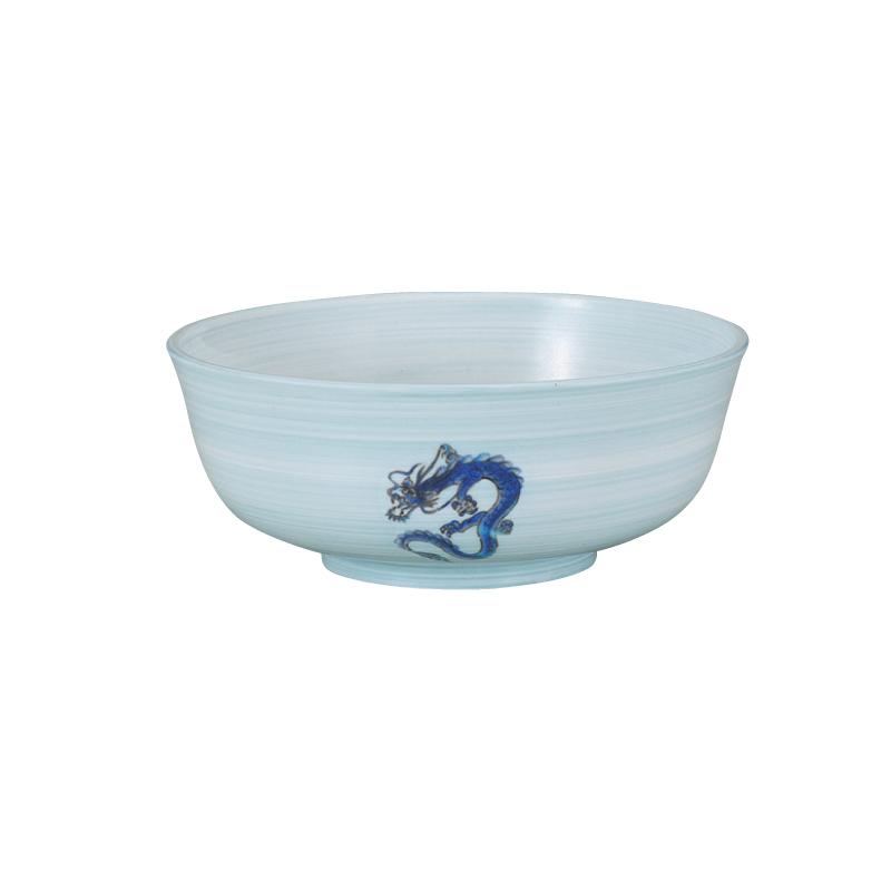 PBT215平布袋麺鉢 青磁青龍紋 2-800-5