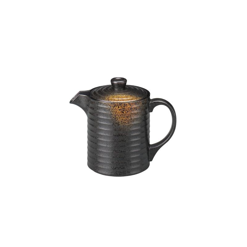 樹脂製 やすらぎ汁次 焼き締め ミニ(250cc) 2-879-11