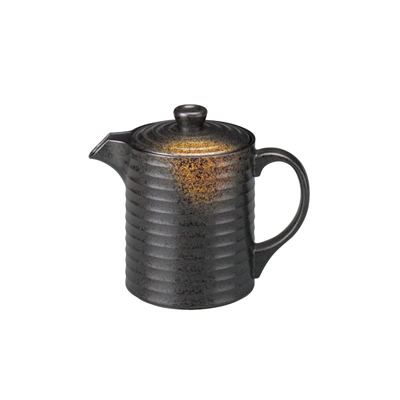 樹脂製 やすらぎ汁次 焼き締め 小(350cc) 2-879-12