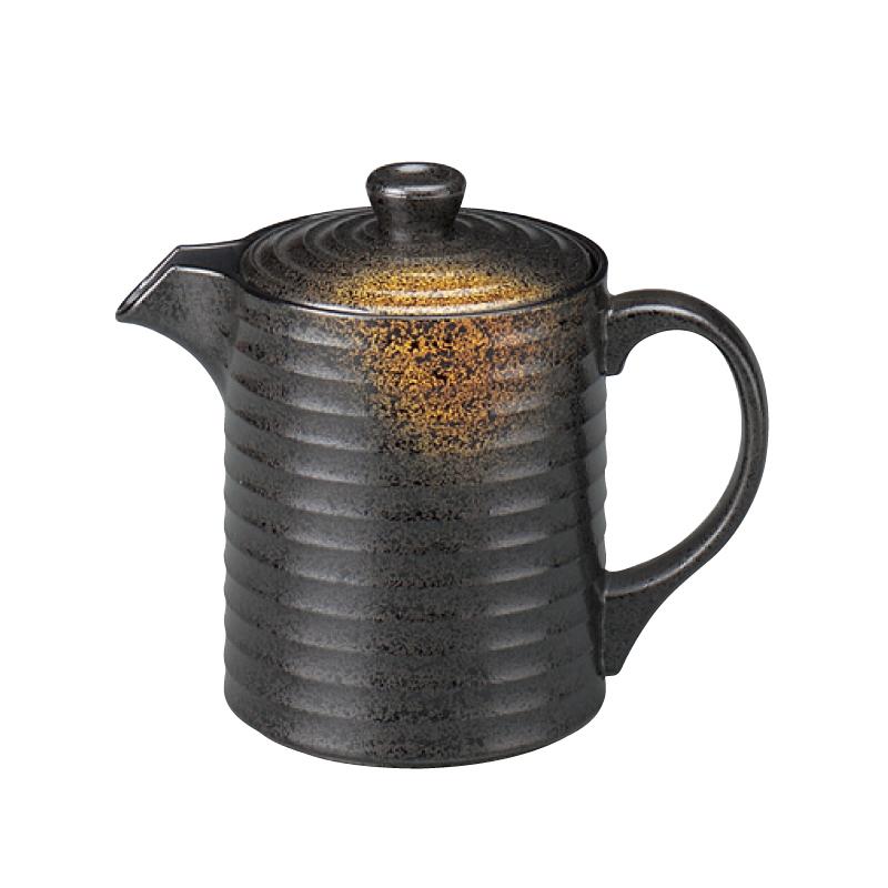 樹脂製 やすらぎ汁次 焼き締め 大(750cc) 2-879-14
