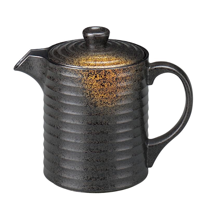 樹脂製 やすらぎ汁次 焼き締め 特大(1000cc) 2-879-15
